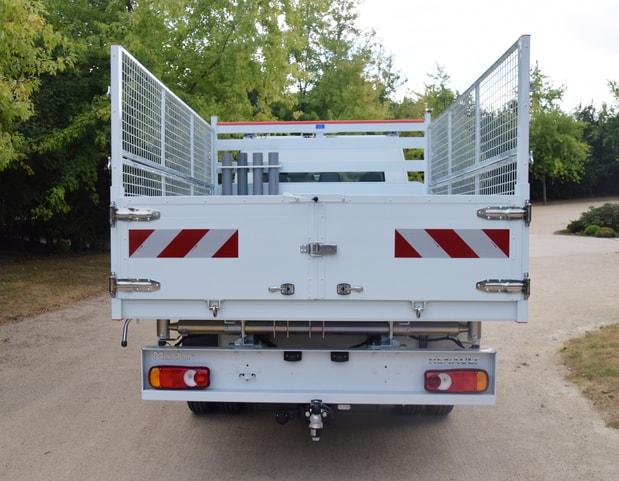 Porte arrière 2 vantaux acier
