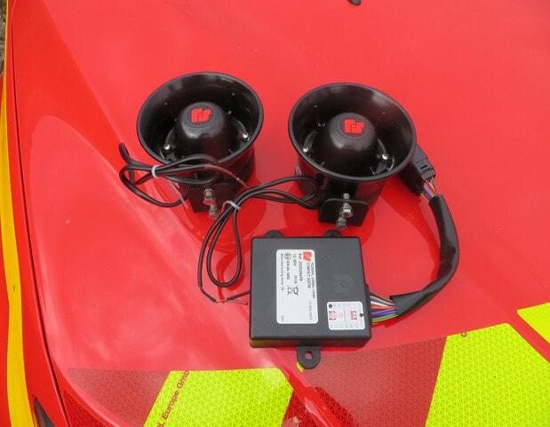 sirène 2 tons pompier