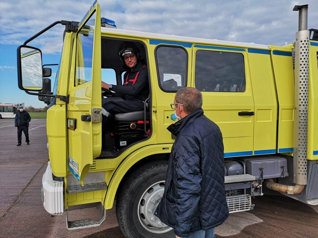 Qui gagnera le grand défi Top Gear France parmi le camion de pompier Lanéry, l'ambulance Gifa et le blindé de gendarmerie ? RDV Jeudi 15 Avril  à 21h05 sur RMC découverte pour le savoir